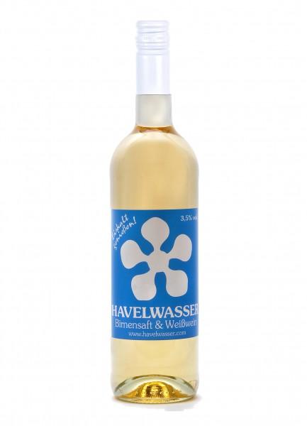 Havelwasser Weiß Bio - Birnensaft küsst Weißwein 750ml 4260415330017