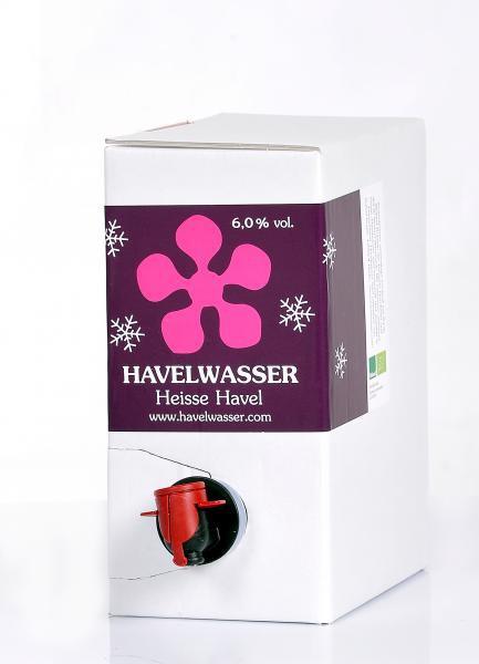 Heisse Havel Rot Bio 3 Liter Bag in Box 4260415330260