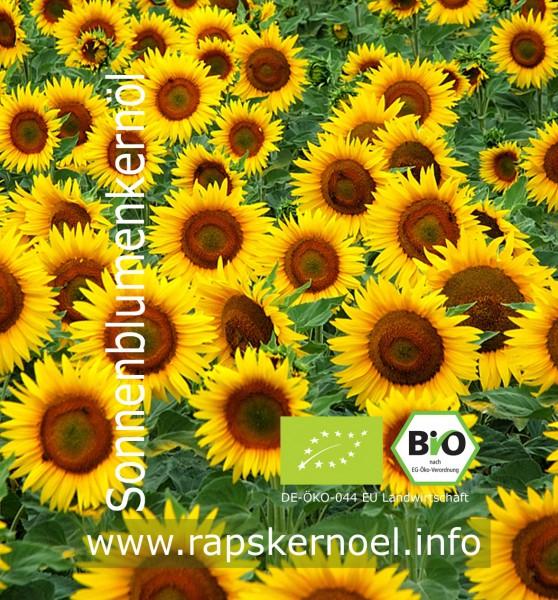 Sonnenblumenkernöl Bio, 3 Liter Bag-in-Box