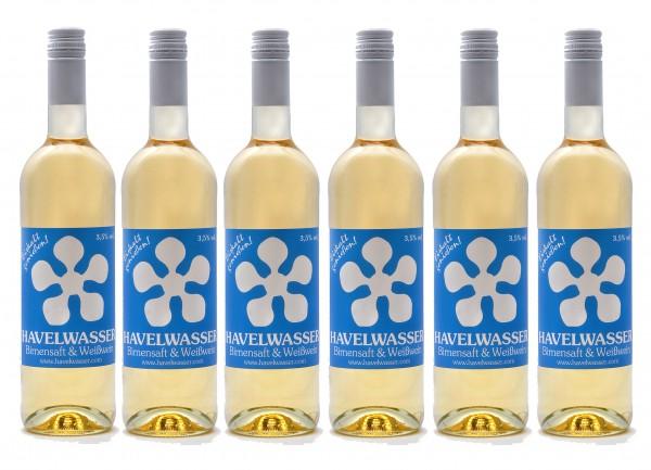 6er Karton Havelwasser Weiß, Bio - Weißwein küsst Birnensaft 6 x 750ml