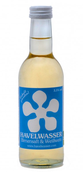 Havelwasser Weiß Bioland - Birnensaft küsst Weißwein 250ml