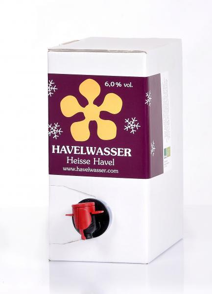 Heisse Havel Weiß Bioland 3 Liter Bag in Box 4260415330253